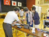 Exhibitions Featuring Educational Materials and Support Devices Used in Special Needs Education